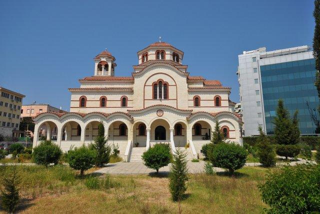 Ортодоксальная церковь города Драч (Дуррес), Албания