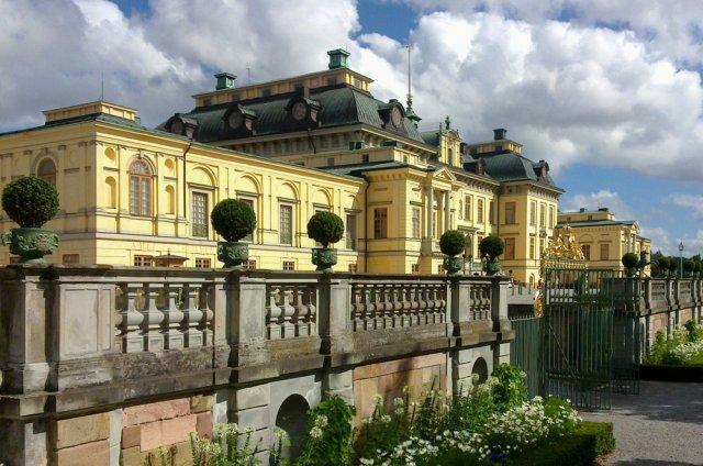 Дворец Дроттнингхольм, Стокгольм, Швеция