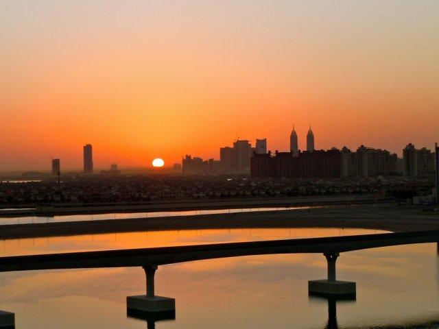 Закат, Дубай, ОАЭ