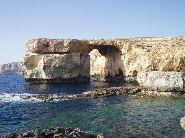 Бухта Дуэйра (Dwerja Bay), Гозо, Мальта