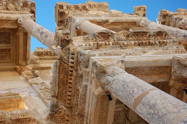 Библиотека Цельсия, Эфес, Турция