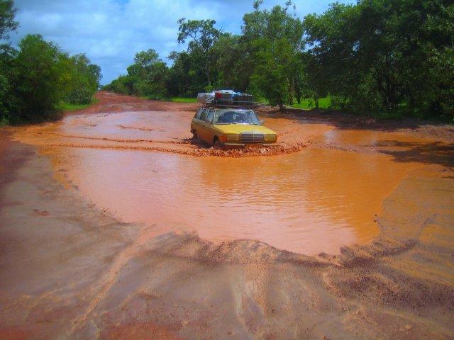Сезон дождей в Гамбии
