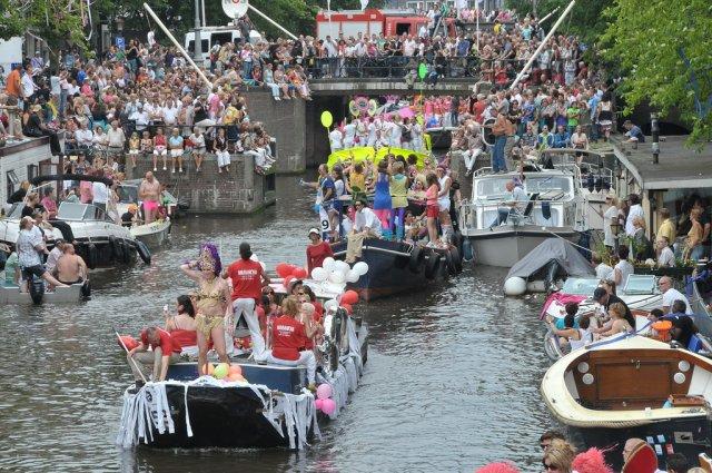 Гей-парад в Амстердаме, Нидерланды