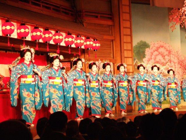 Танец гейш, Япония