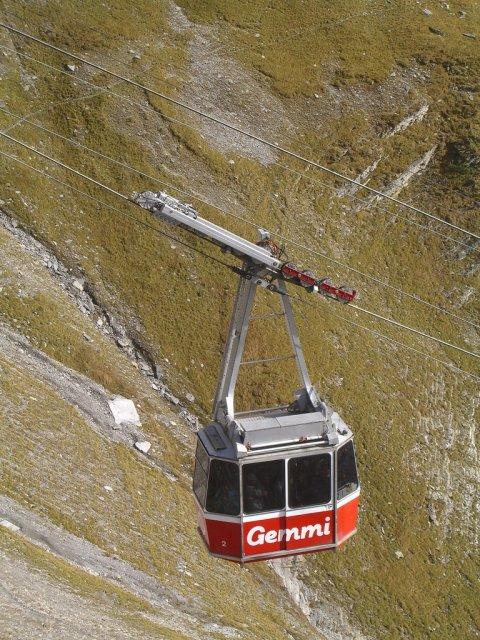 Подъемник в Лейкербаде, Швейцария