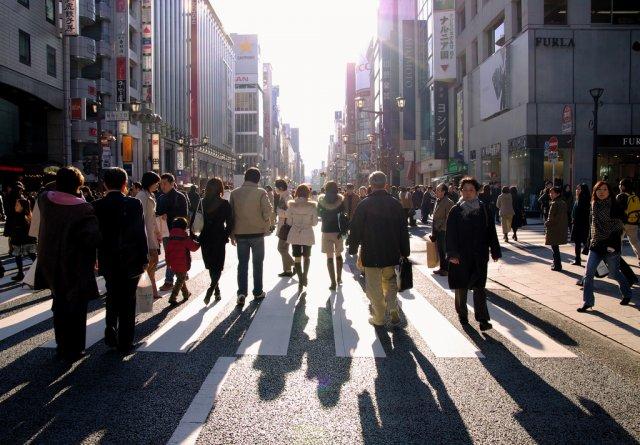 Гиндза, Токио, Япония