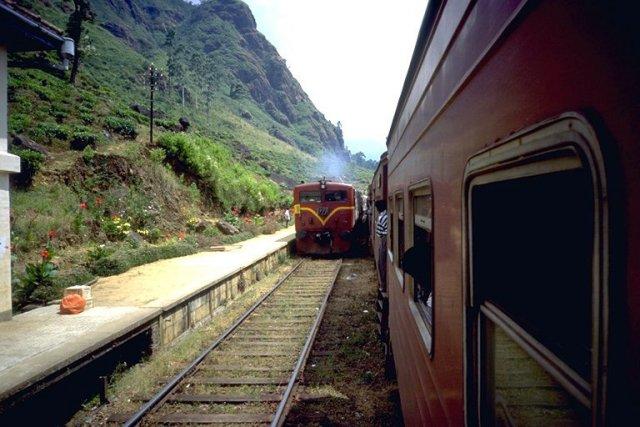 Большая западная железная дорога, Шри-Ланка