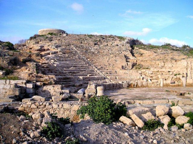 Греческий театр в Пафосе, Кипр