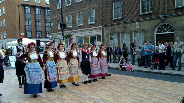 Греческие танцы на Крите