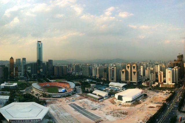 Панорама Гуанчжоу, Китай
