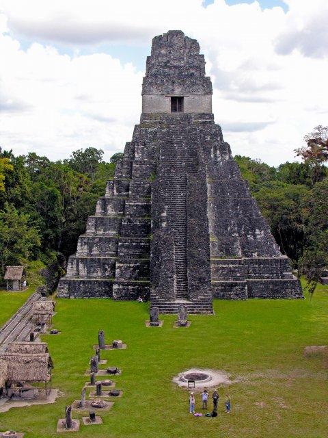 Храм Большого Ягуара, Гватемала