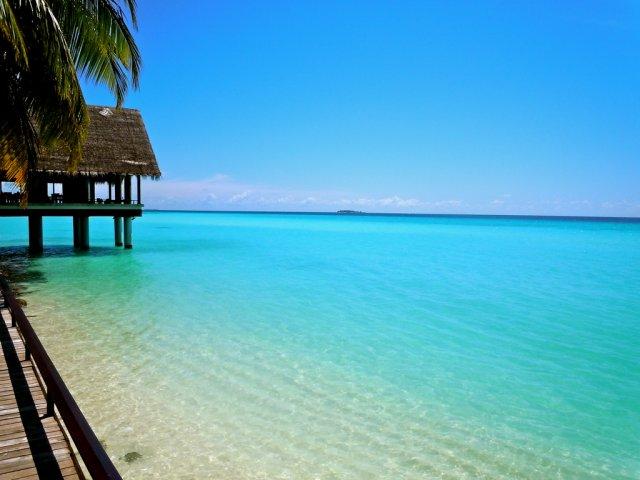 Остров атолла Хаа-Алифу, Мальдивы