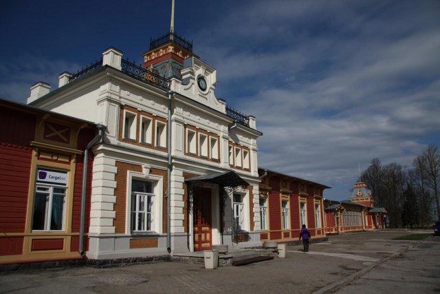 Железнодорожная станция в Хаапсалу, Эстония