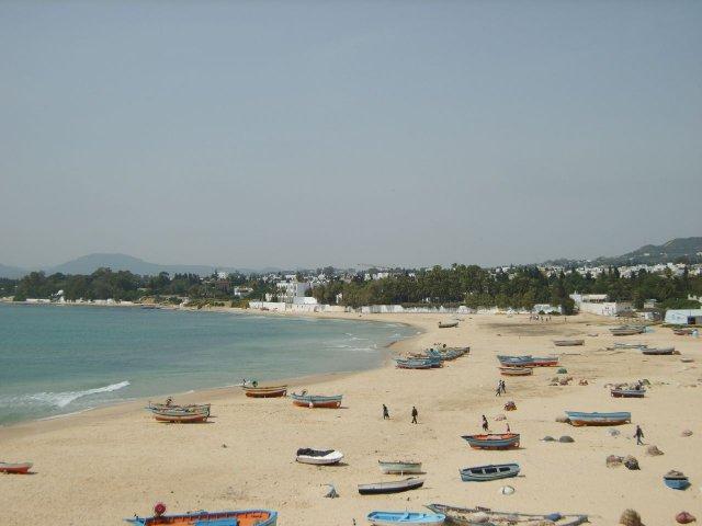 Пляж Хаммамета, Тунис