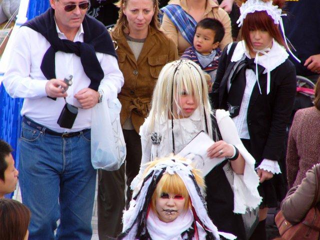 Хараюку-мода тинейджеров, Токио, Япония