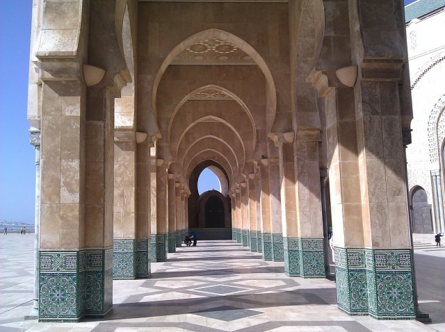 Великая мечеть Хассана II в Касабланке, Марокко