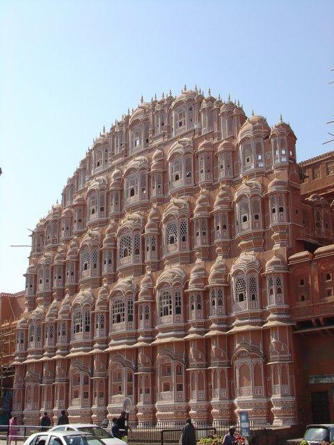 Дворец Ветров в Джайпуре, Индия