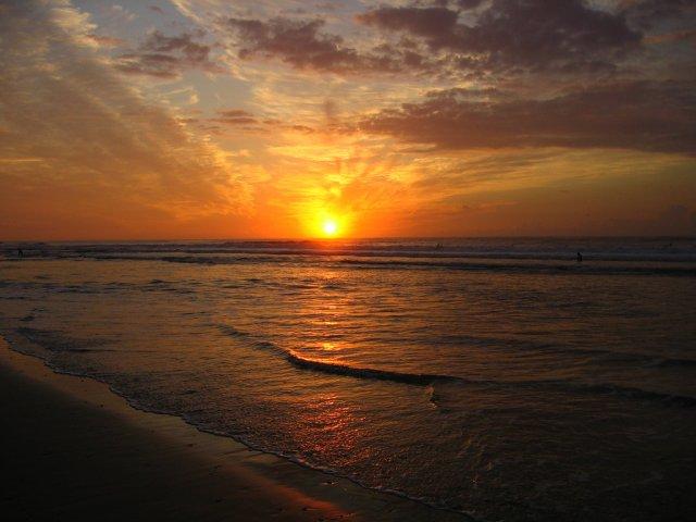 Закат на Средиземном море, Герцлия, Израиль