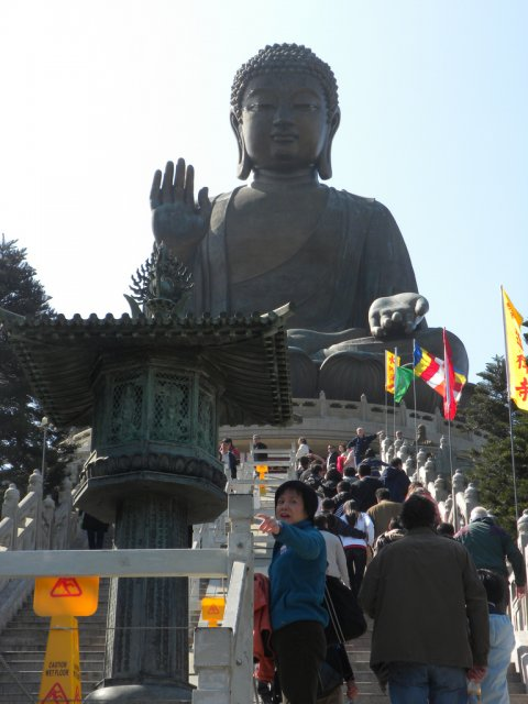 Статуя Будды в Гонконге, Китай