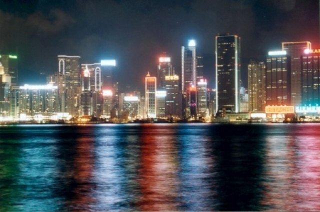 Огни ночного Гонгконга