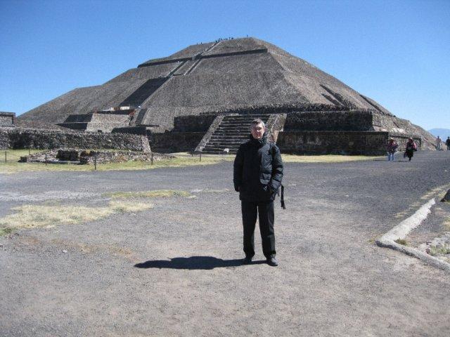 Вершина пирамиды Солнца, Мексика