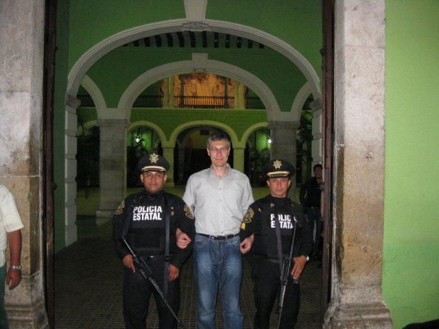 Мерида. Моя полиция меня бережет, Мексика
