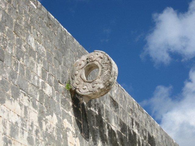 Кольца для игр в парке Шкарет, Мексика