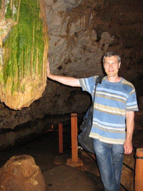 В пещере Баланкаче, Мексика
