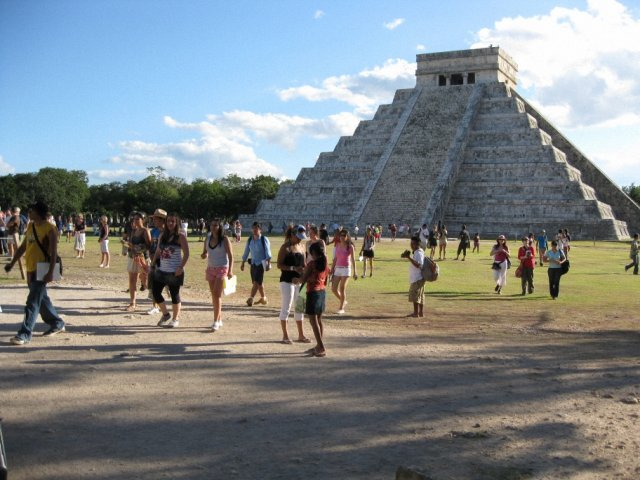 Пирамида Кукулькана, Мексика