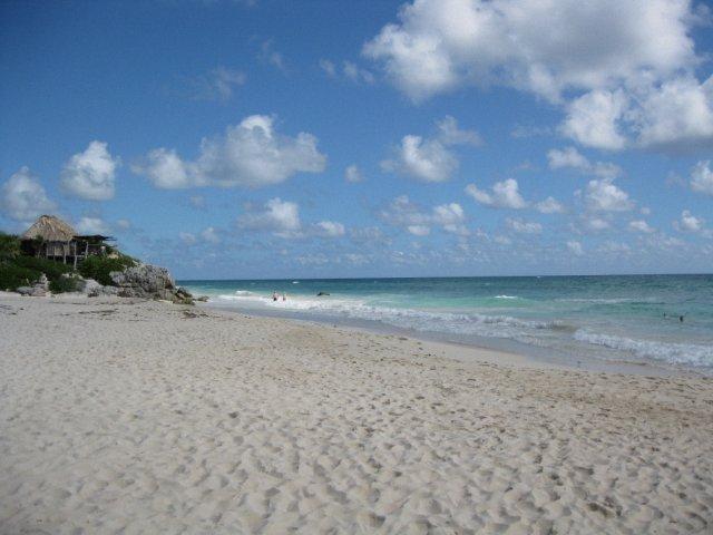 Пляж отеля Посада дель Соль, Тулум, Мексика