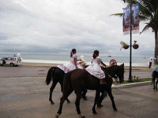 Парад на острове Козумель, Мексика