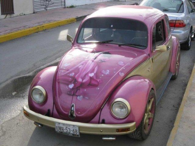Автомобиль-жук, остров Козумель, Мексика