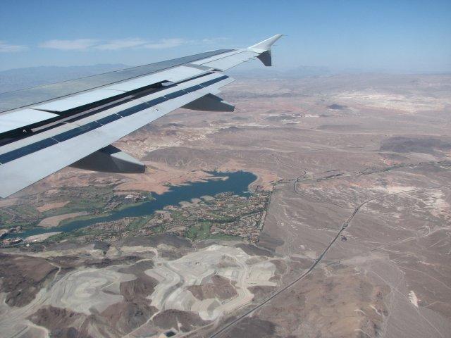Авиаперелет Нью-Йорк - Лас-Вегас