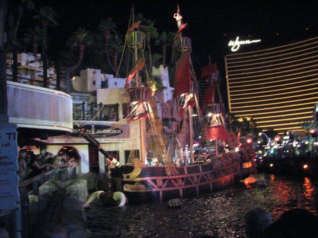 Шоу пиратов, Лас-Вегас