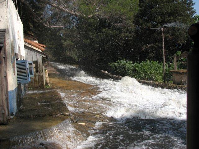 Наводнение, студия Юниверсал Голливуд