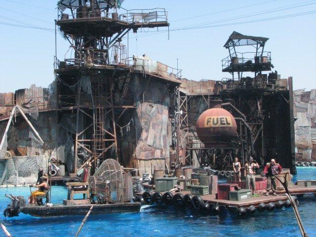 Водный Мир, студия Юниверсал Голливуд
