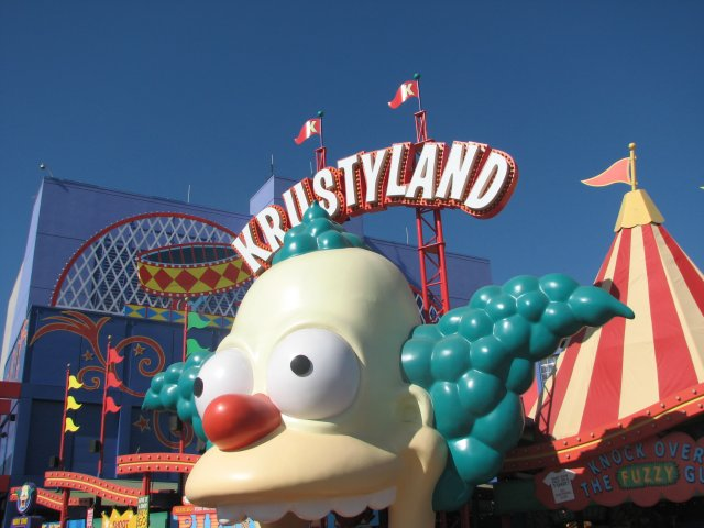The Simpsons Ride, Universal Studios Hollywood
