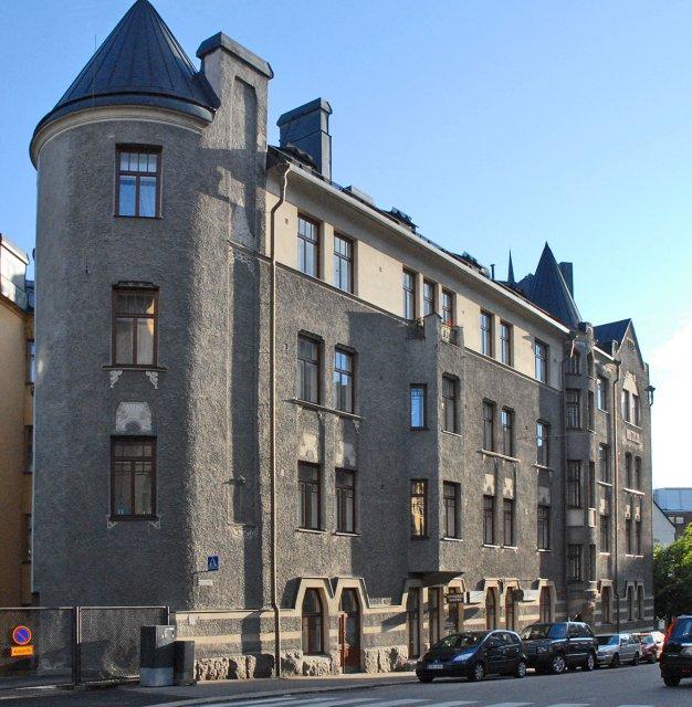 Район Катаянокка в Хельсинки, Финляндия