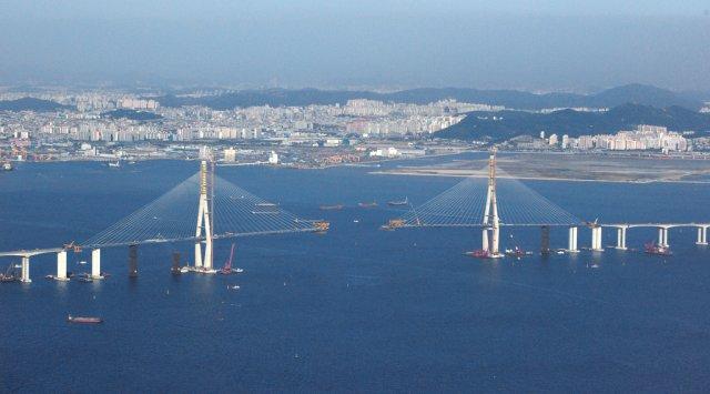 Мост Йонджон, Инчхон, Южная Корея