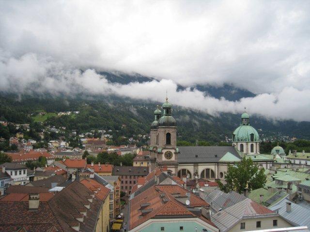 Инсбрук летом, Австрия