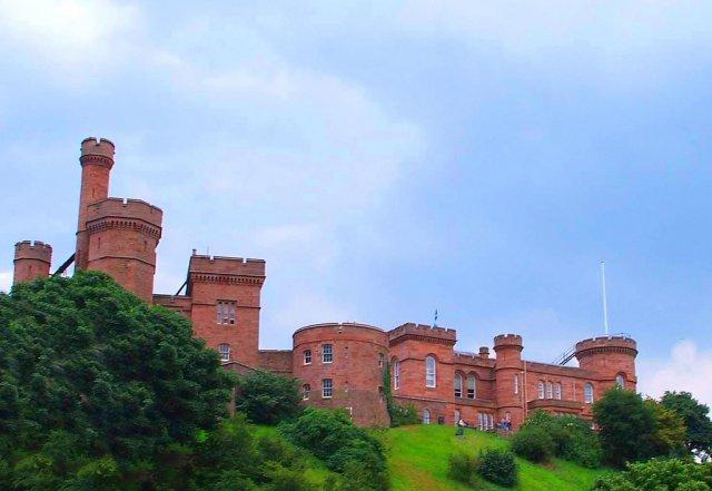 Замок Инвернесс, Шотландия