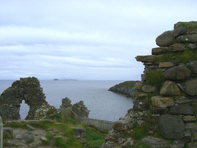 Руины, остров Скай, Шотландия