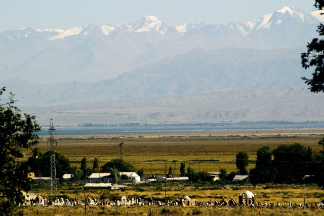 Озеро Иссык-Куль и горы Тянь-Шань, Киргизия