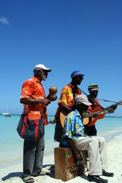 Музыканты на Ямайке
