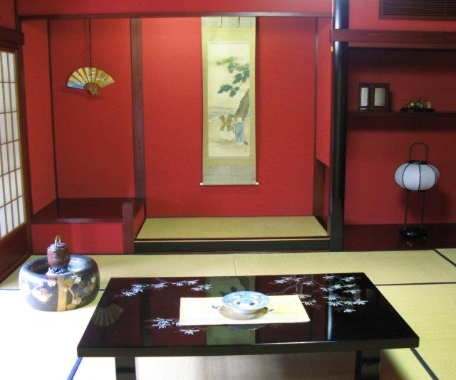 Традиционный японский интерьер дома