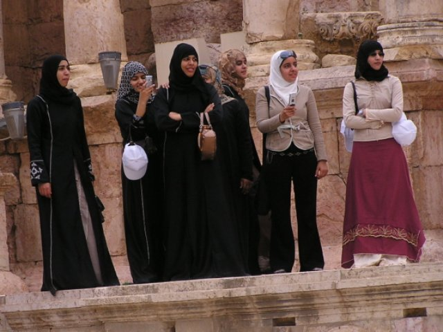 Жители Иордании