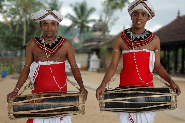 Танцоры Кандиан, Шри-Ланка