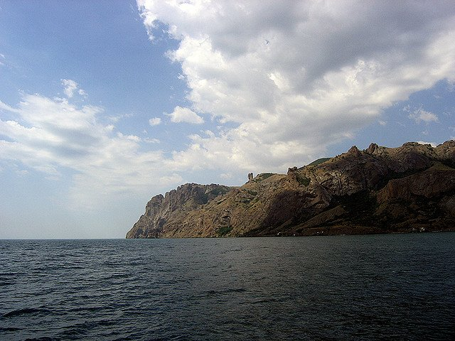 Гора Карадаг, Крым, Россия