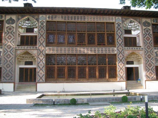 Дворец шекинских ханов, Азербайджан