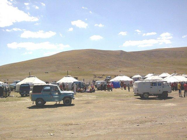 Туристический лагерь в Хар-Нуур, Монголия